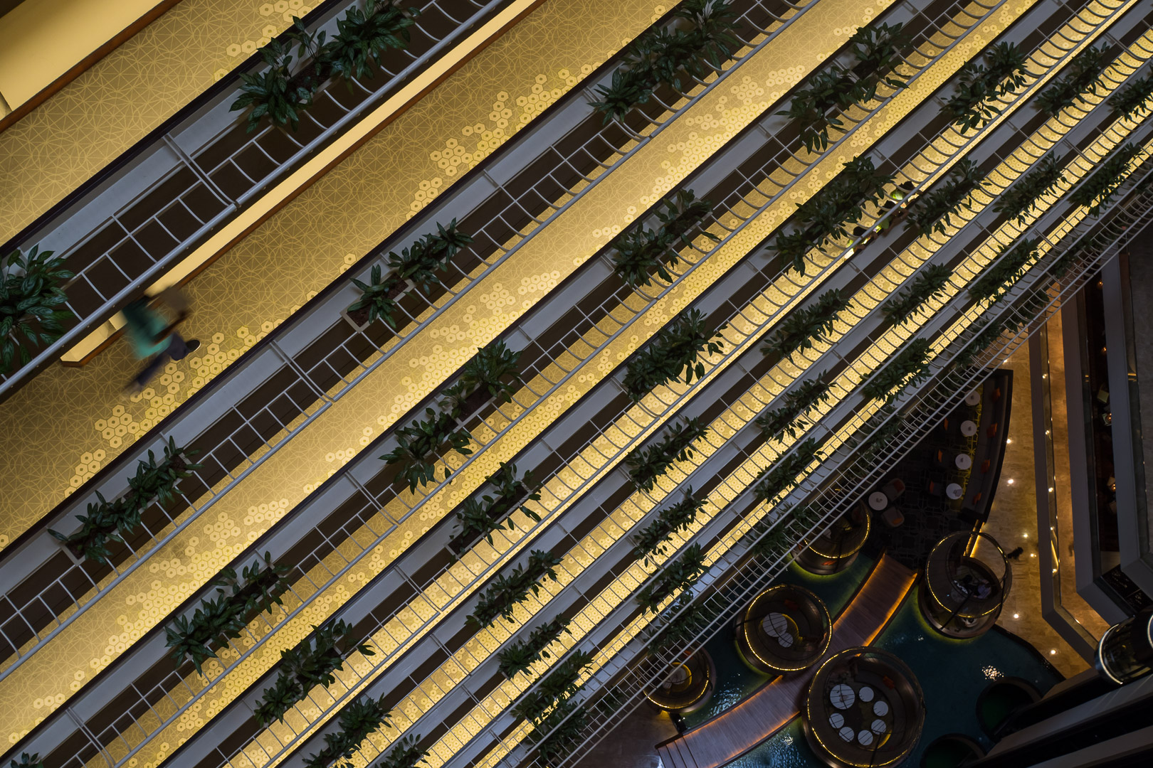 the golden floor